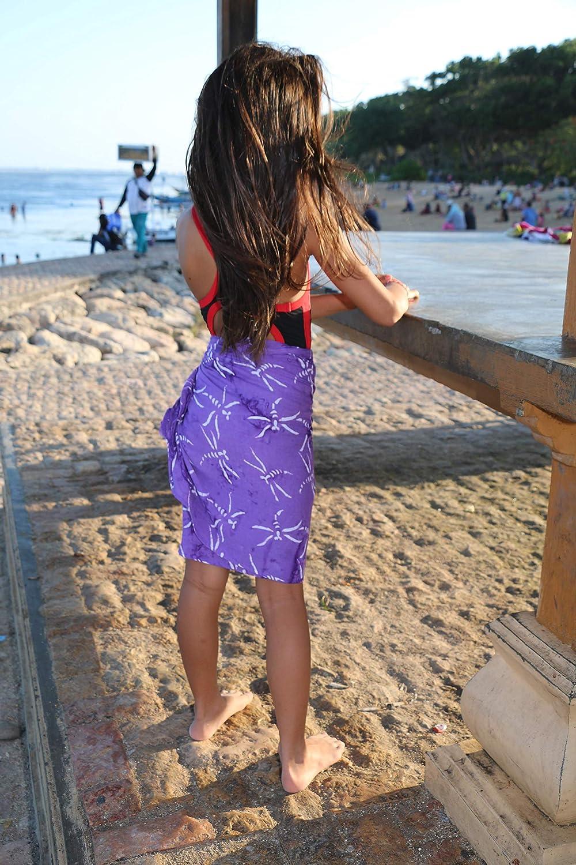 1 World Sarongs Girls Fun Animal Half Sarong