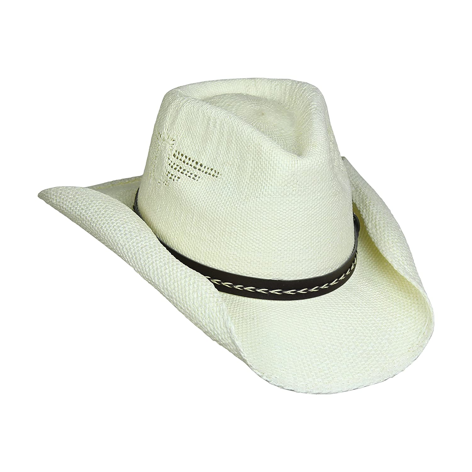 Shapeable Drifter Cowboy Hat w Eagle Cut-Outs 5919f6c72db