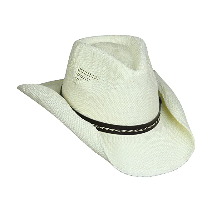 0041e4b5fde Shapeable Drifter Cowboy Hat w Eagle Cut-Outs