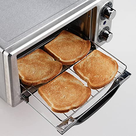 what temperature to toast bread in toaster oven