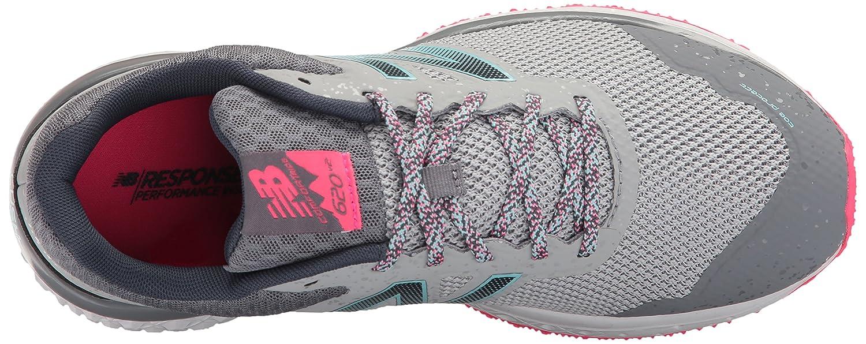 New Balance Women's Cushioning 620v2 Trail Runner B01LYXJEWB 6 D US|Silver Mink/Gunmetal