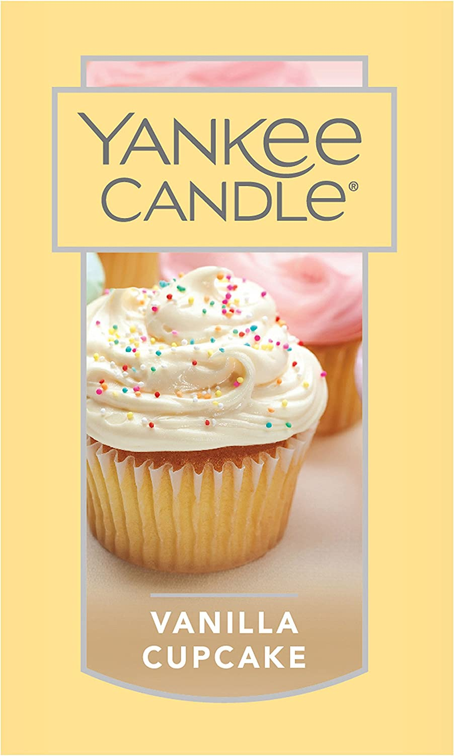 Yankee Candle Large Jar Candle Vanilla Cupcake: Home & Kitchen