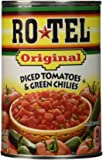 RO TEL TOMATO DICED GRN CHILI, 10 OZ, Pack of 4