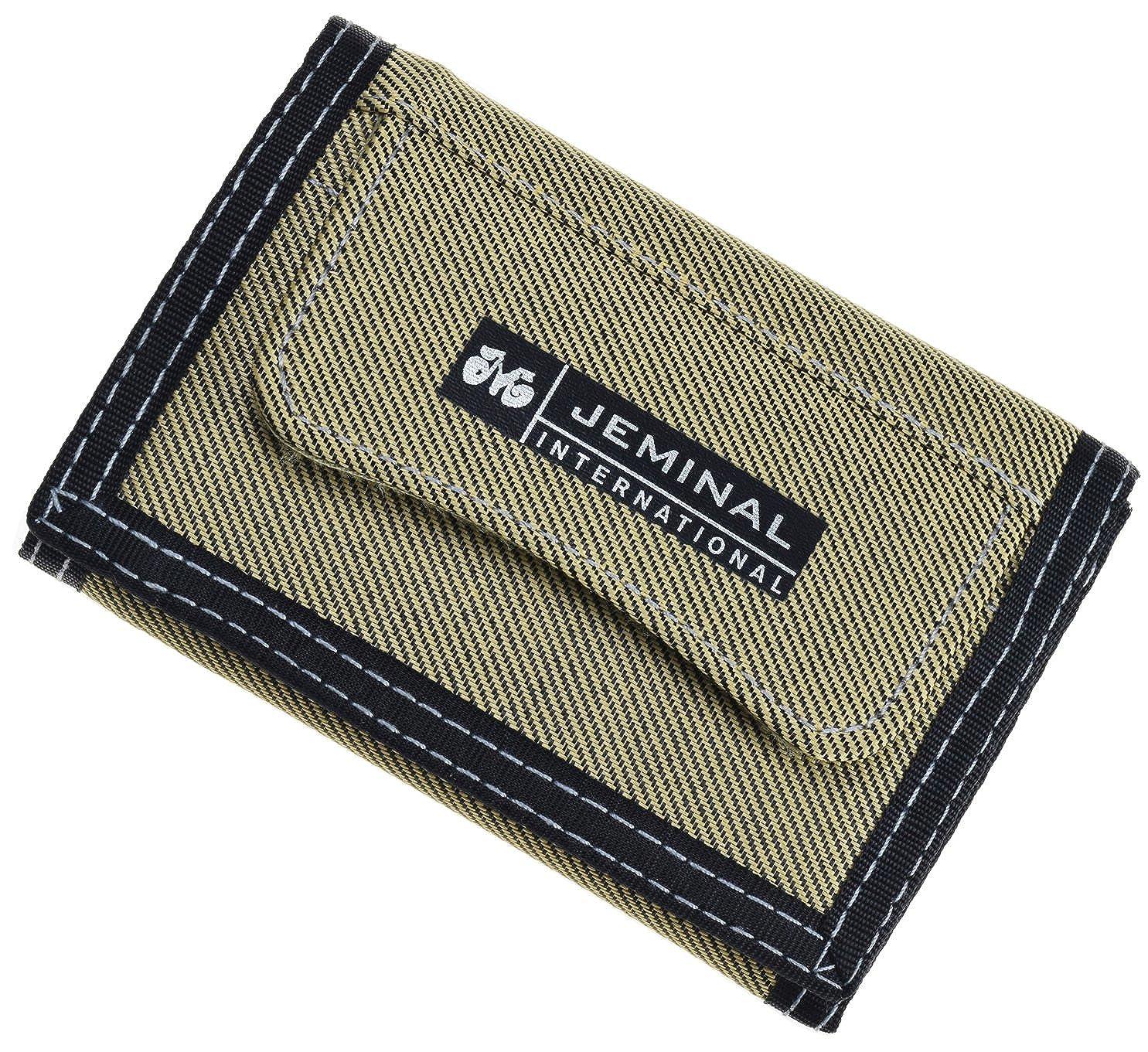 Amazon.com: JEMINAL - Monedero corto de lona con bolsillo ...