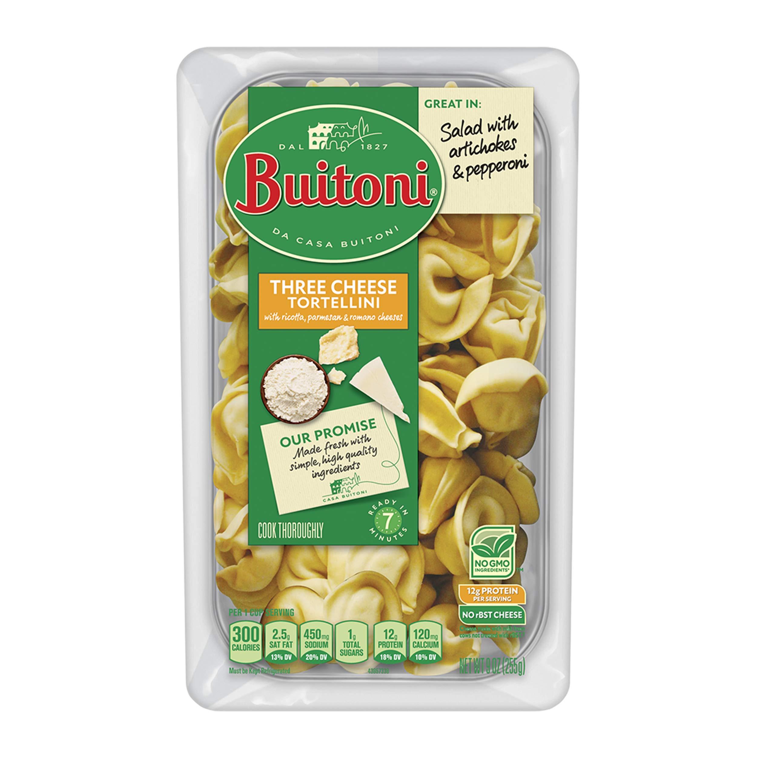 Buitoni Spinach Cheese Tortellini Refrigerated Pasta 9 Oz Amazon