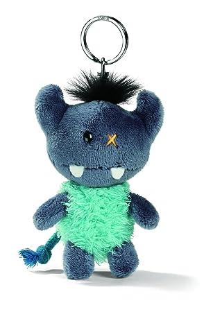 Nici 33384 - Llavero con monstruo de peluche, 10 cm, color azul: Amazon.es: Juguetes y juegos