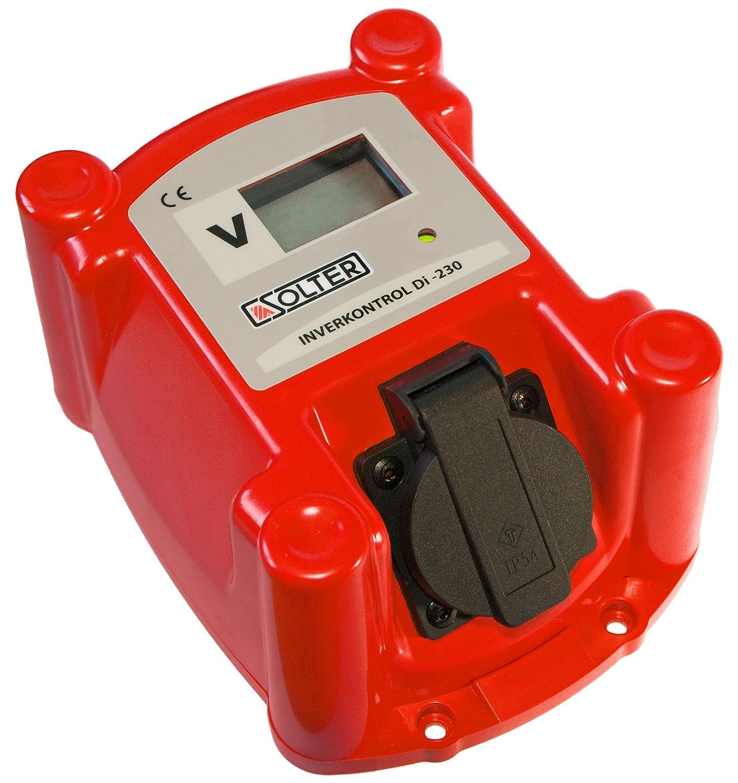 SOLTER - Inverkontrol DI 230 Protector de Voltaje para conectar equipos INVERTER a GENERADORES: Amazon.es: Industria, empresas y ciencia