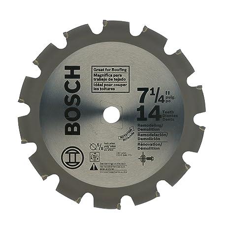 7 1 4 circular saw blade. bosch cb714nc 7-1/4-inch 14 tooth circular saw blade 7 1 4