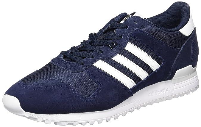 Adidas ZX 700 Women Schuhe blue night super purple footwear