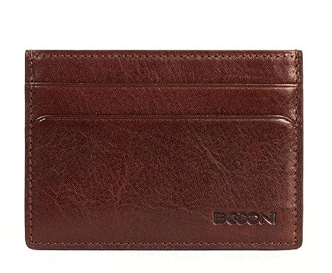 a4aa2eb1baa9 Boconi Becker RFID Weekender ID Card Case (Whiskey w/Aspen) at ...
