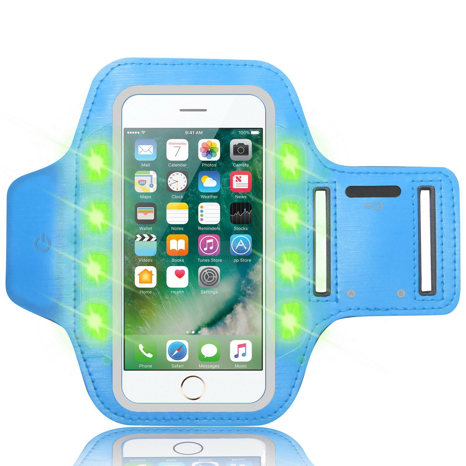 Sports Armband For Iphone X 8 7 6 Plus 5 5sgalaxy S9 Circuit Board Samsung Note 2 N7100 Best Durable Case Cell Phones S8 S7 S6 Edge Water Resistant Led Flash Lamp Accessories