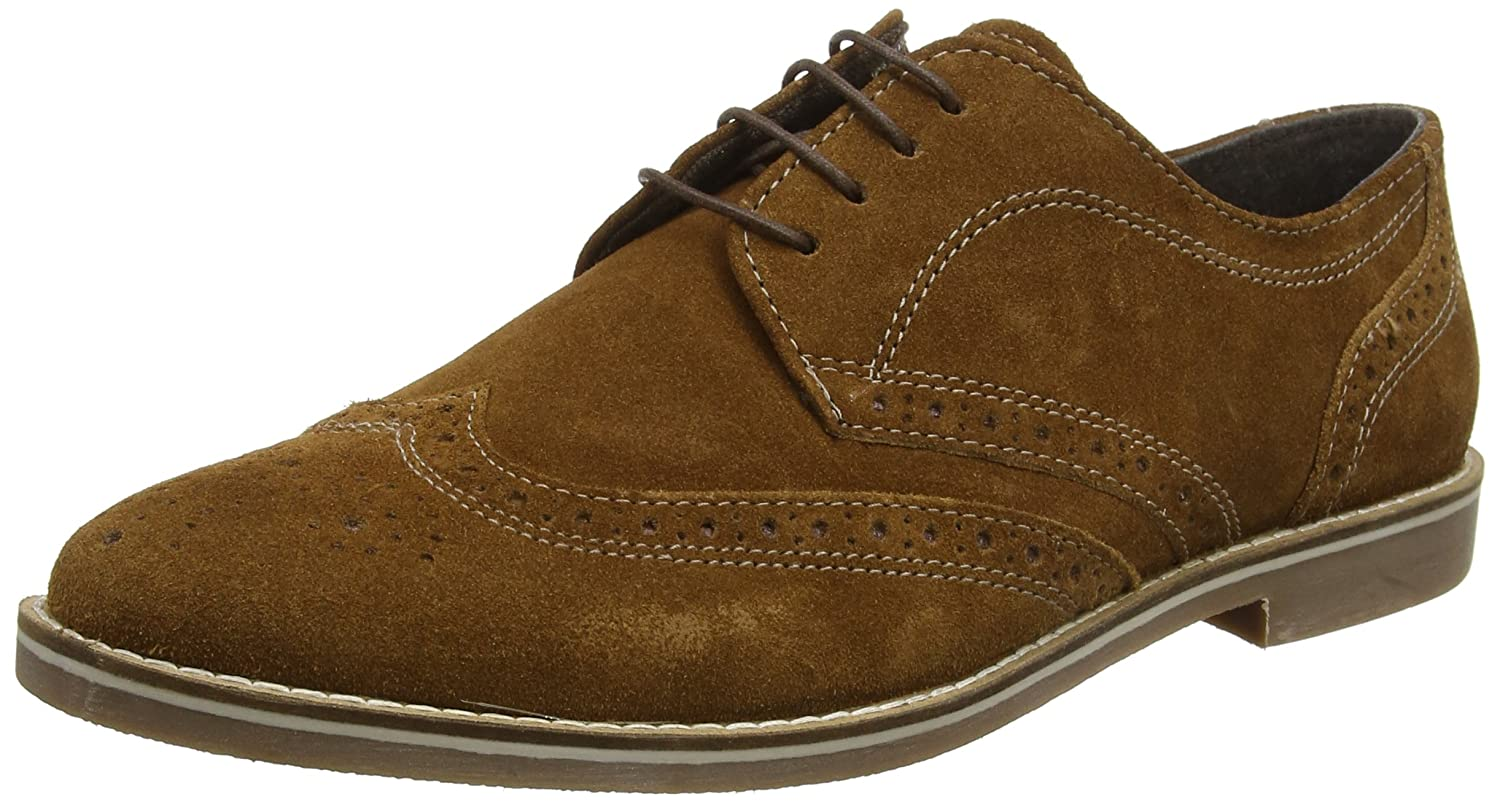 TALLA 9 UK EU. REK69|#Red Tape Checkley, Zapatos de Cordones Brogue para Hombre