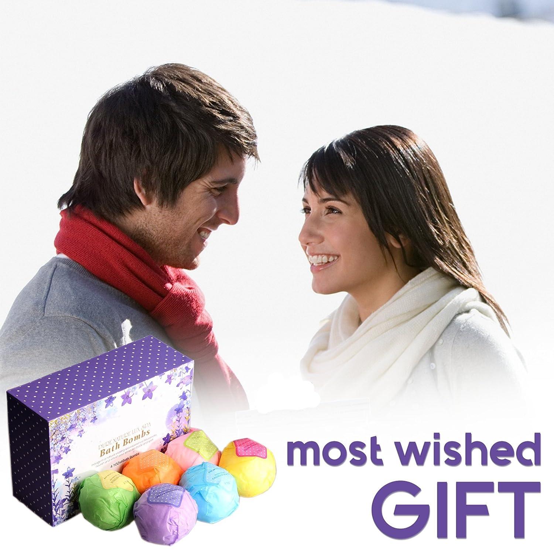 Amazon.com : LuxSpa Bath Bombs Gift Set - The Best Ultra Lush ...