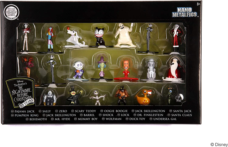 Disney Nightmare Mini Diecast Metal Character  Figure Santa Claus