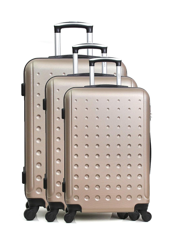 BD-13056 Luggage Set BD-13056 Hero Taurus Gep/äckset 70 cm Grau