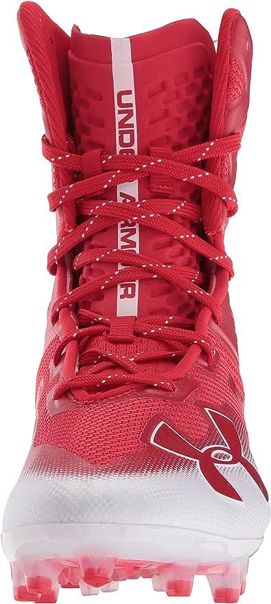 Under Armor Highlight Wählen Sie Mc Rote Weiße Sneakers