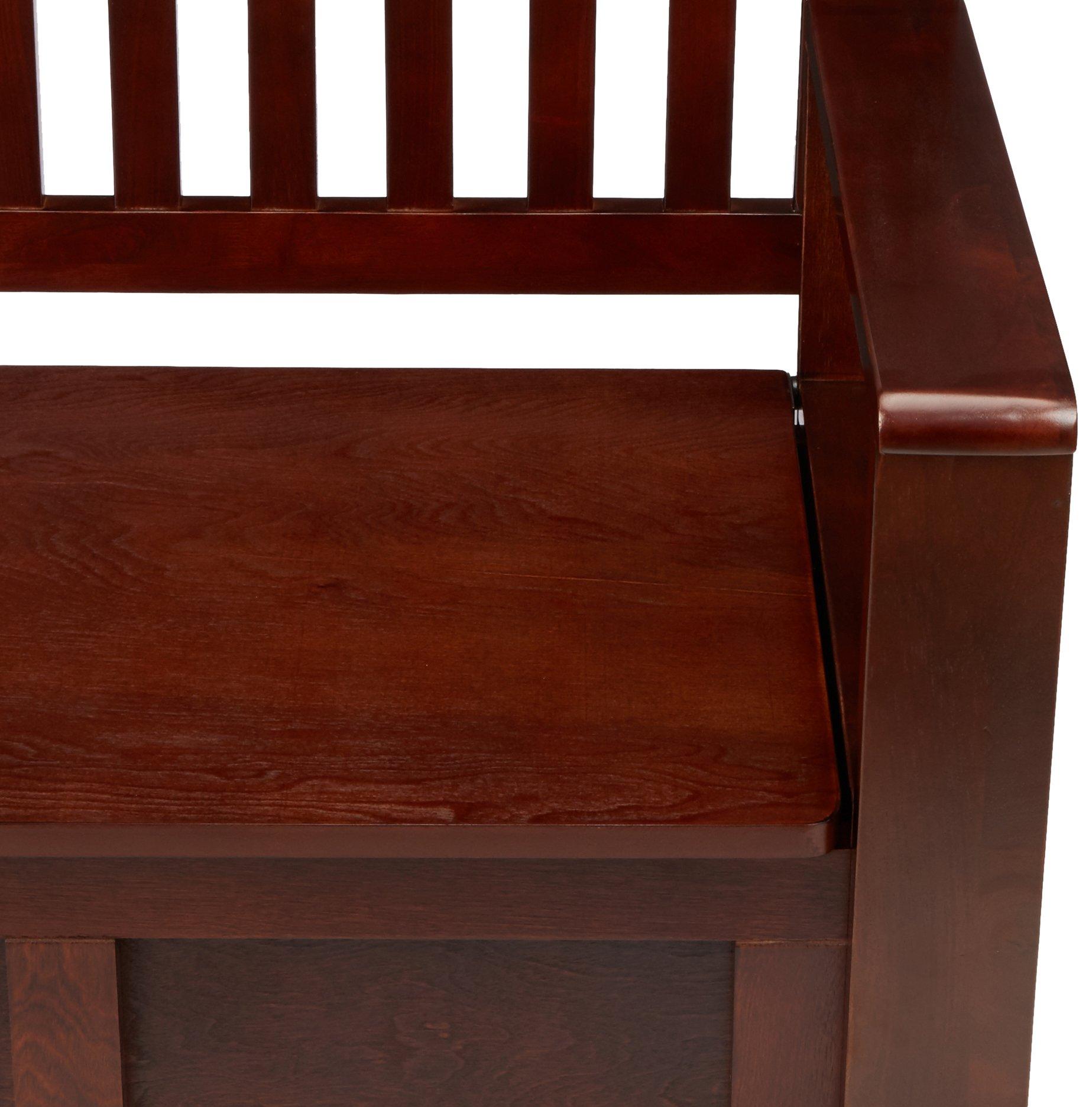 Linon Cynthia Storage Bench