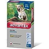 Advantix Grand Chien 25 à 40 kg- 6 pipettes antiparasitaires 4 ml