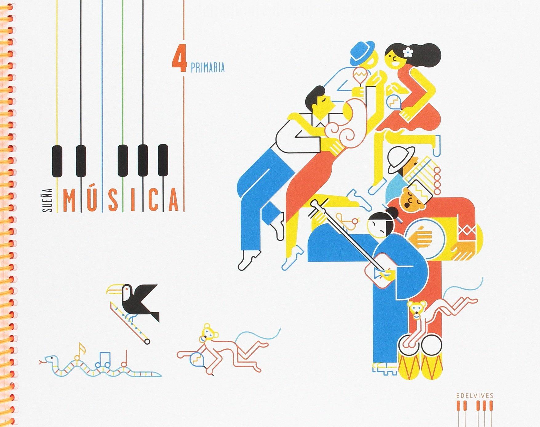 Música 4º Primaria: (Libro + cuaderno) (Sueña música): Amazon.es: Carlos Enrique del Valle Mateos, Félix Jesús Cabrerizo Gutiérrez: Libros