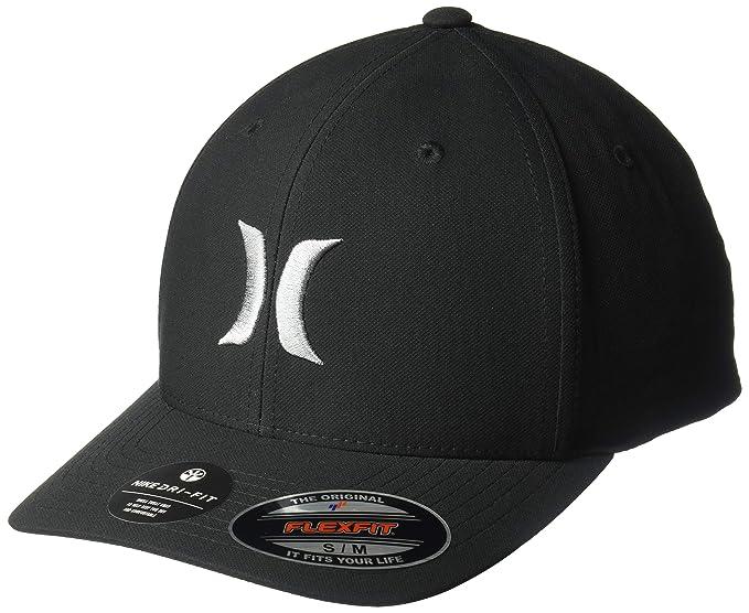 8b03daaa0 Hurley Men's Dri-fit One & Only Flexfit Baseball Cap