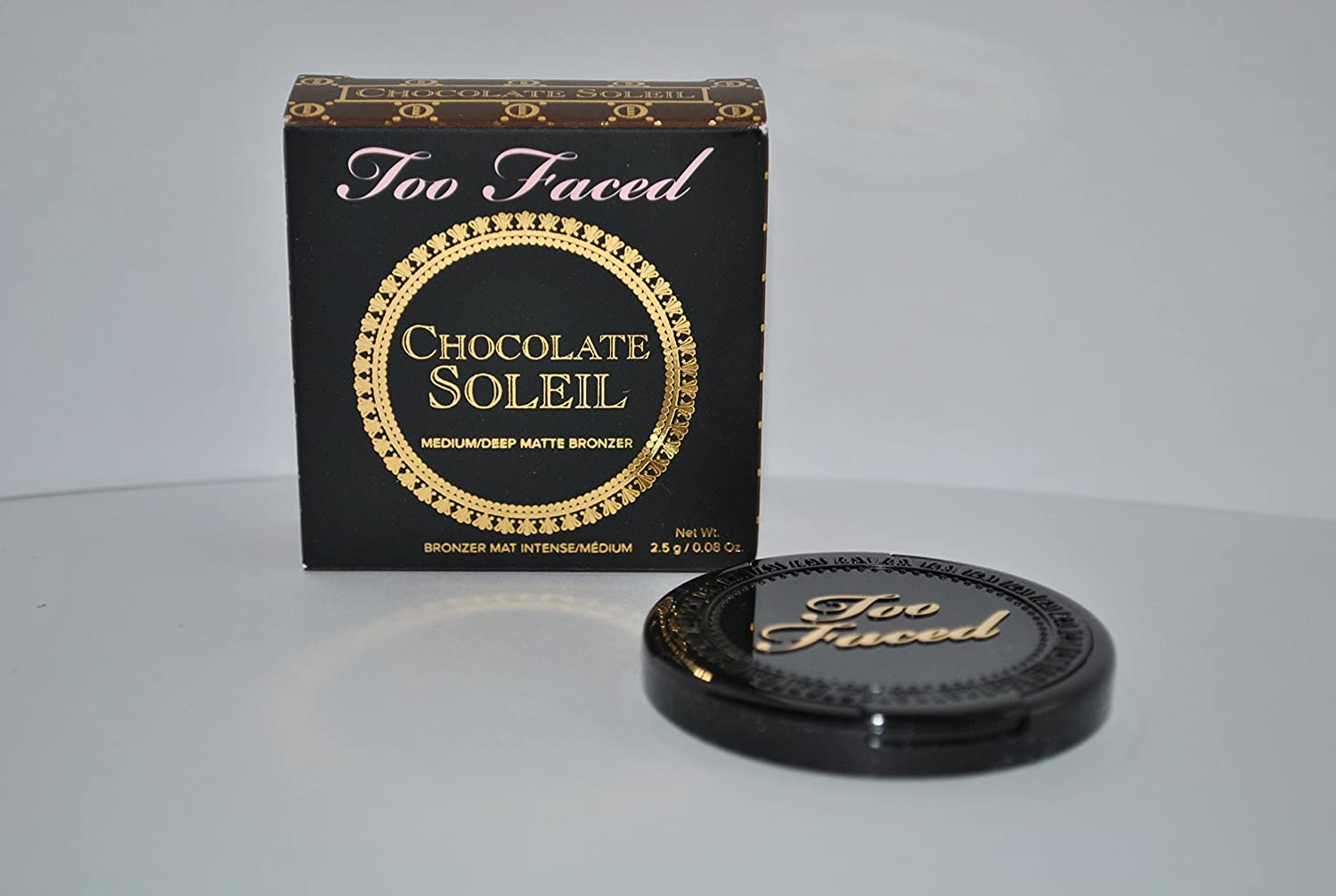 Amazon.com : Too Faced Chocolate Soleil Matte Bronzer - Medium ...