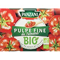 Panzani Sauce Pulpe Fine de Tomates Bio 800 g