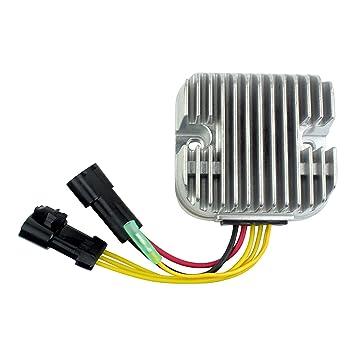 Mosfet Voltage Regulator Rectifier For Polaris RZR 800 Sportsman 800 500 Ranger 500 800 2010 2011 2012 2013 2014 OEM Repl 4012748