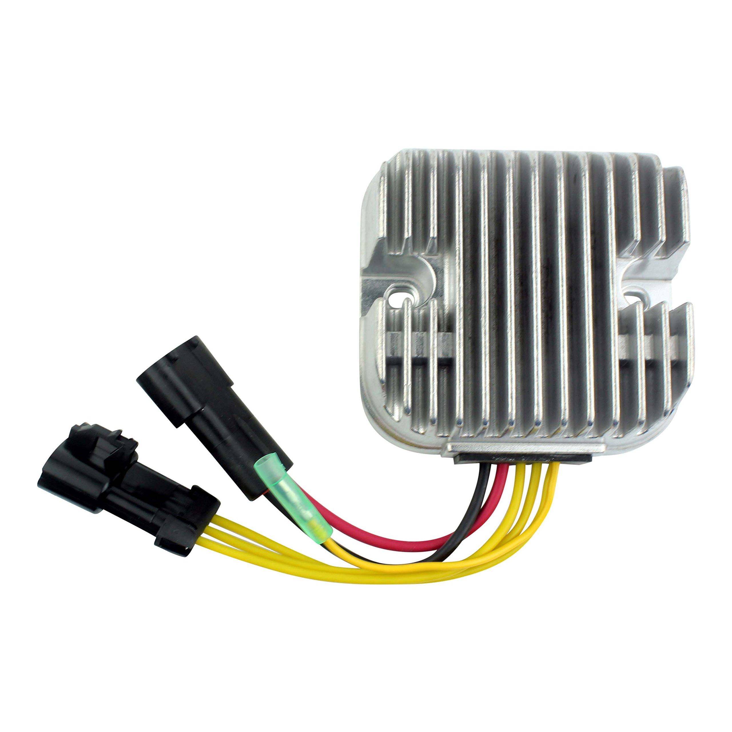 Mosfet Voltage Regulator Rectifier For Polaris RZR 800 Sportsman 800/500 Ranger 500/800 2010 2011 2012 2013 2014 OEM Repl.# 4012748 by RMSTATOR (Image #7)