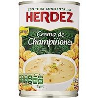 Herdez, Crema de champiñones, 425 gramos