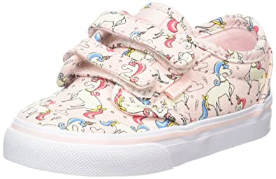 23e60a900 Vans Baby Girls' Atwood V Trainers, Multicolour ((Unicorn) Pearl ...