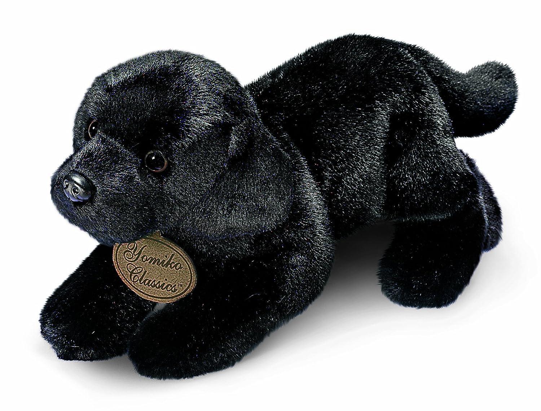 Russ Berrie Yomiko - Perro labrador de peluche (43 cm), color negro: Amazon.es: Juguetes y juegos