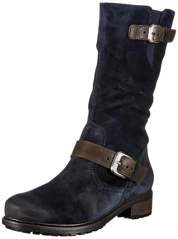ara Damen Kansas St Stiefel Blau (Blau,moro)