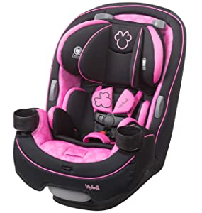 Safety 1st Disney Baby Grow & Go 3-in-1 Convertible Car Seat, Simply Minnie, One Size