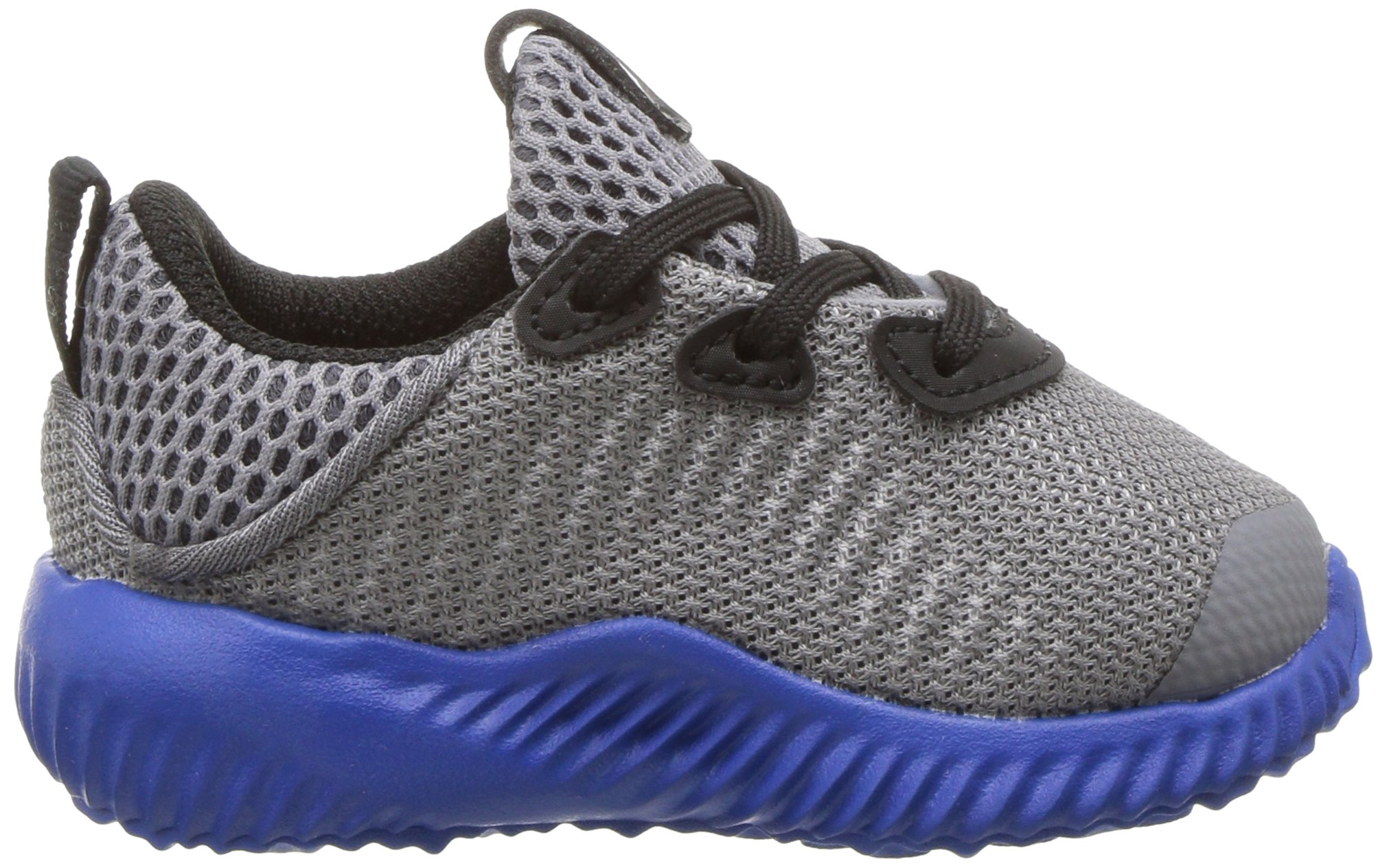 adidas Kids' Alphabounce Sneaker, Grey/Light Onix/Satellite, 7 M US Toddler by adidas (Image #7)