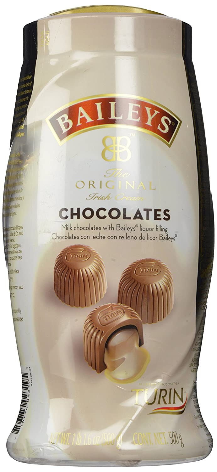 Amazon.com : Baileys Irish Cream Liquor Filled Chocolates Turin, 1 ...