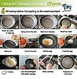 yodo Anodized Aluminum Camping Cookware Set