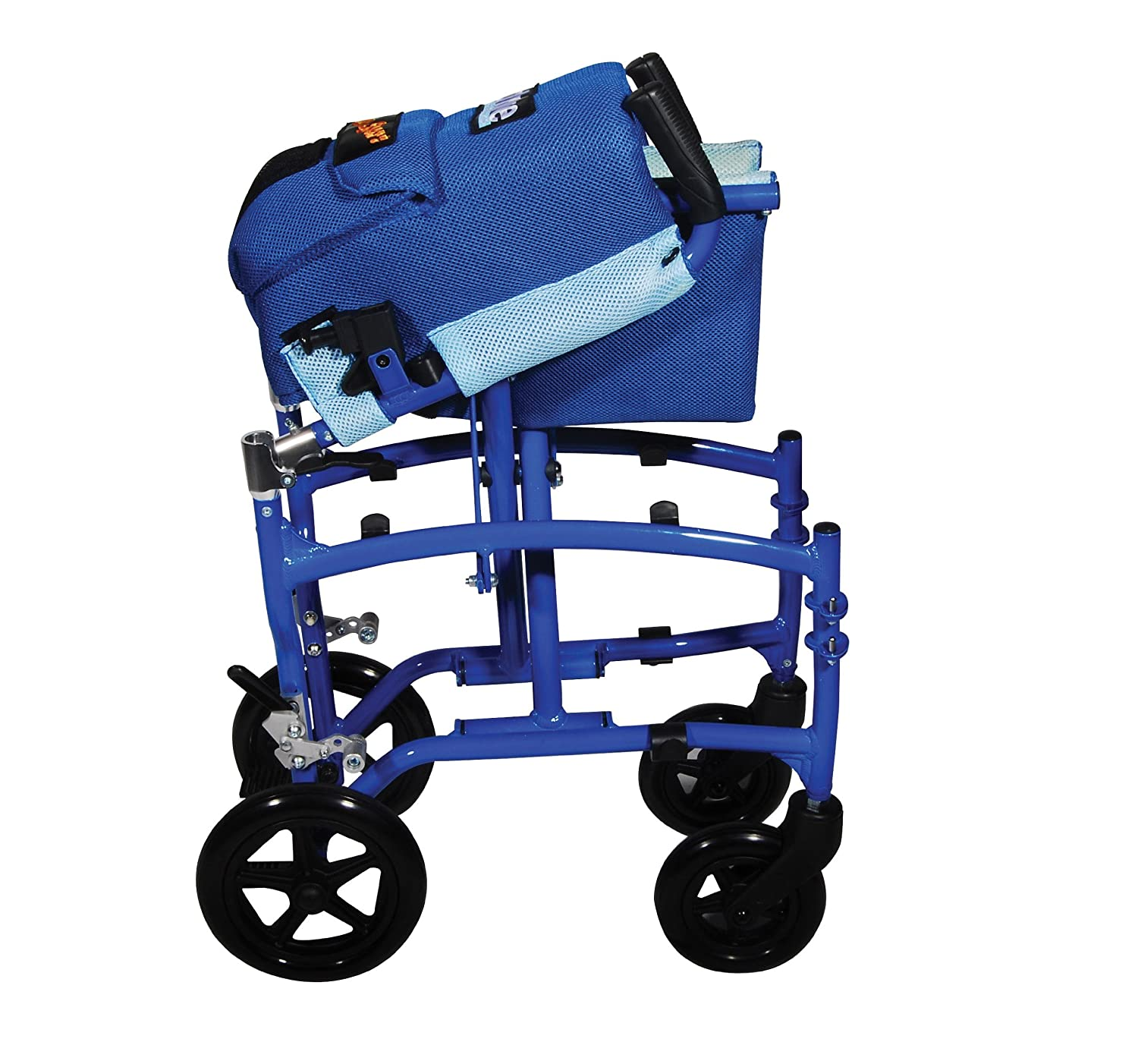 Amazon Drive Medical Transport Chair Blue Health & Personal
