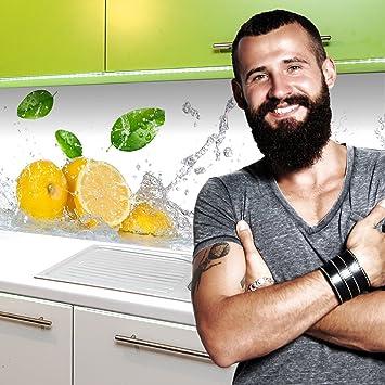 Küchenrückwand kleben  Amazon.de: Küchenrückwand selbstklebend Pro