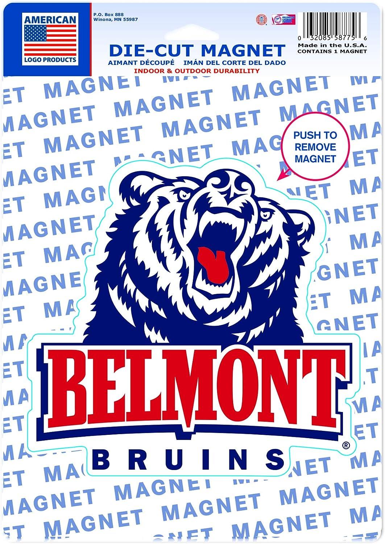 WinCraft Belmont Bruins Official NCAA 6 x 9 Car Refrigerator Magnet 6x9 587756
