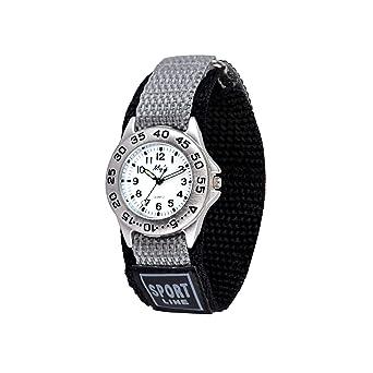 Gaigor Niño Relojes de Pulsera Deportivos para Infantiles Relojes de Cuarzo analógico Gris G022W004: Amazon.es: Relojes