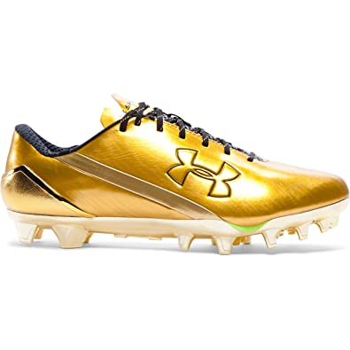 f83b30267cf Under Armour Men's Spotlight Football Cleats Limited Edition - Gold 004 (10  UK): Amazon.co.uk: Shoes & Bags