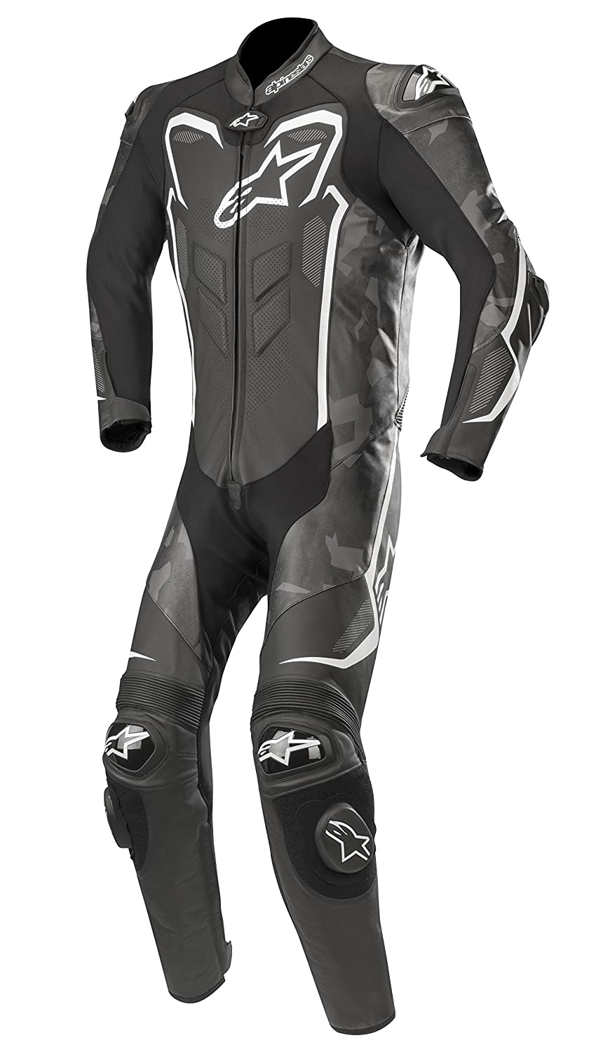 Black//White, Size 54 Alpinestars Mens 3150718-997-54 Suit