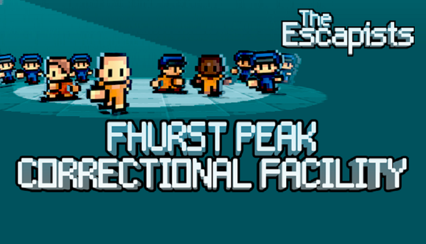 The Escapists - Fhurst Peak Correctional Facility [Online Game Code] by Team17 (Image #1)