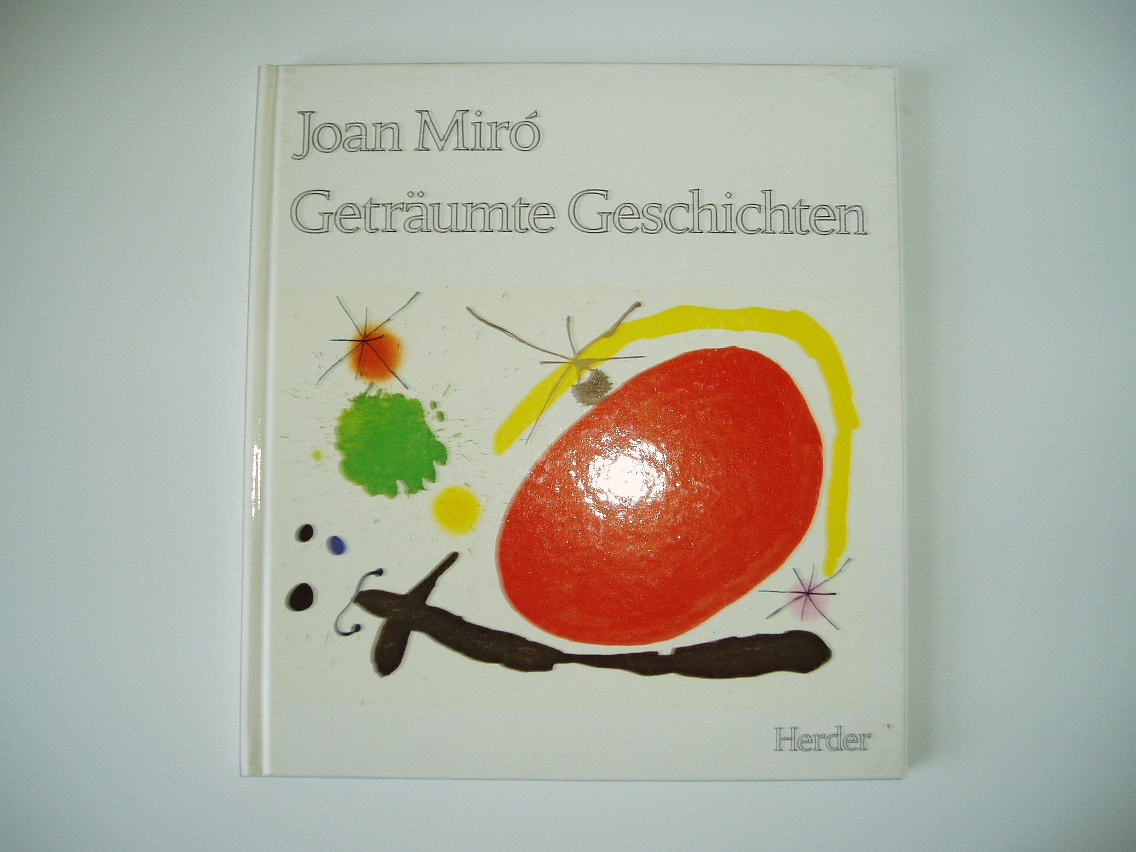 Geträumte Geschichten: Amazon.de: Joan Miro: Bücher
