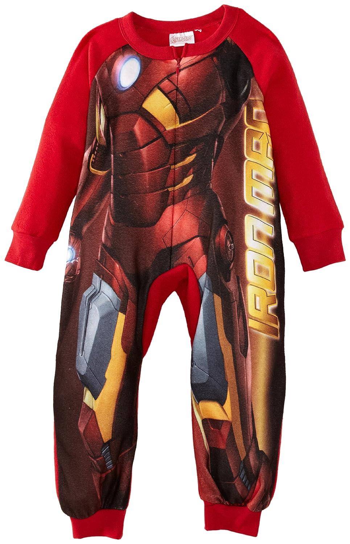 Marvel Avengers - Pijama de una pieza para niño, talla 3 Years - talla inglesa, color rojo (tango red): Amazon.es: Ropa y accesorios