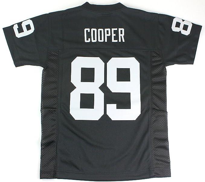 online retailer 71174 108fc Amari Cooper Oakland Raiders #89 Black NFL Kids 4-7 Home Mid Tier Jersey