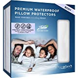 UltraPlush Premium Waterproof Pillow Protector - Hypoallergenic and Bed Bug Proof Zippered Pillow Case - 1 Pack - Super Soft and Quiet (Body Size 20 inches x 54 inches)