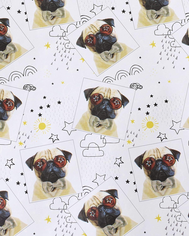 UK Greetings 602436-0-1 - Papel de regalo para perro (2 m ...