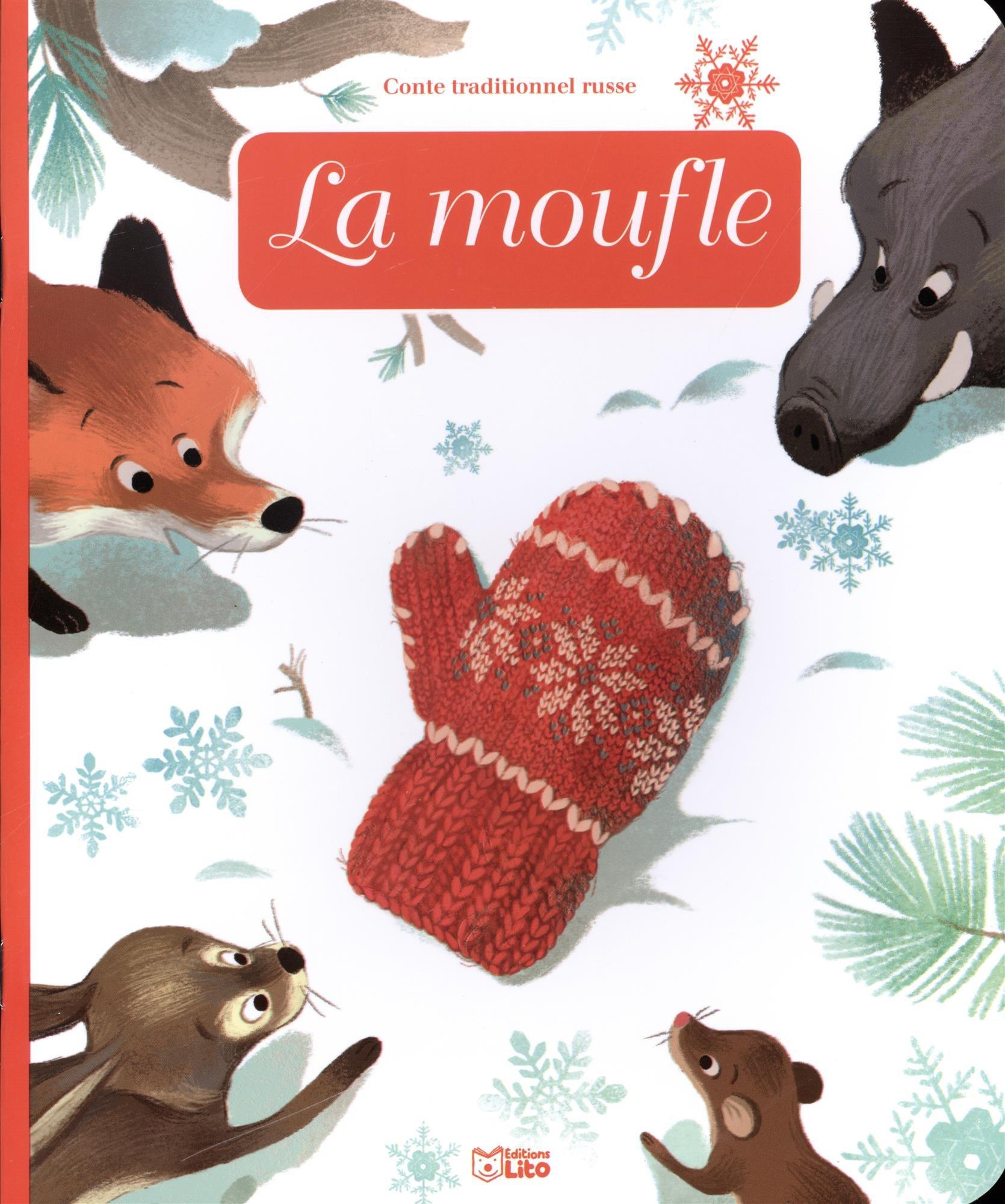 Livraison gratuite dans le monde entier modélisation durable mode de luxe Amazon.fr - Minicontes classiques: La moufle - Dès 3 ans ...