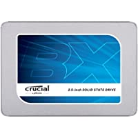 Crucial BX300 CT240BX300SSD1 SSD Interno, 240 GB, 3D NAND, SATA,  2.5 Pollici